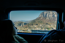 road tripping the Amalfi Coast.