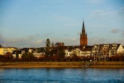 the Rhine river.