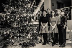 creamtone family Christmas.