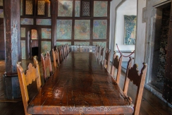 They used to carry the whole table out instead of just clearing plates for parties.