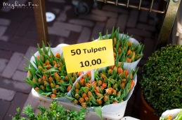 50 tulips for 10 euro?? YES PLEASE.