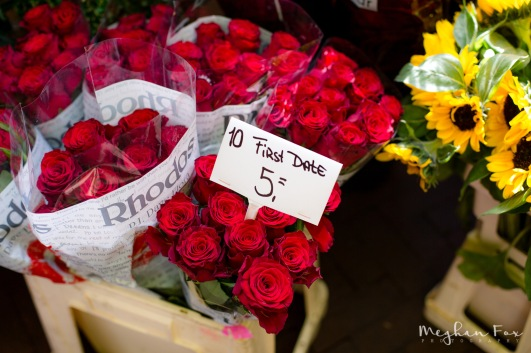 No excuse to not get a girl flowers on a first date.