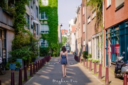 (Lacey took my picture, because I'm going to miss walking around beautiful European cities in my free time.)